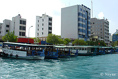 Male' sea side