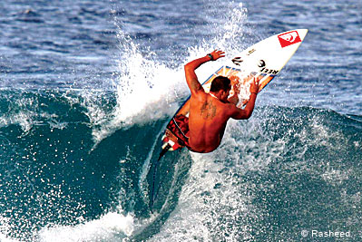 Maldives host international Surf competitions